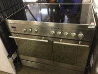 Baumatic Stainless Steel Electric Range Cooker