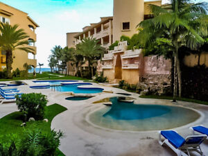 Beautiful 1 Bdr Beach Condo for rent in Puerto Aventuras Mexico