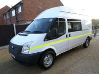 Ford Transit 2.2TDCi, T350 LWB, Hi Roof, Welfare / Mess Van, Toilet van, 125bhp