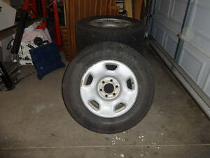 17 inch michelin winter tires on rims
