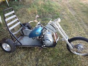 Home made 3 wheeler project