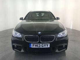 2013 BMW 520D M SPORT DIESEL ESTATE 184 BHP FINANCE PART EXCHANGE WELCOME