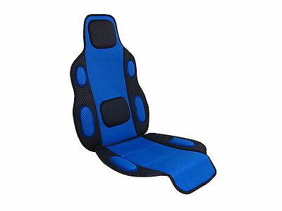 Sitzauflage, Sitzschoner blau Polsterung weich für Auto PKW Bus Typ Tuning