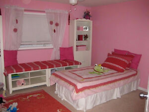 Everything to Re-do a Girls Bedroom up to 3 beds