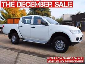 MITSUBISHI L200 4 LIFE, DOUBLE CAB, EURO 5 - £7,999 PLUS VAT OR FLEXIBLE FINANCE