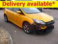 2013 Ford Focus ST2 Turbo 2.0 DAMAGED REPAIRABLE SALVAGE