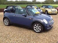 2006 MINI 1.6 Cooper Convertible 2dr Petrol Manual (175 g/km, 116 bhp)