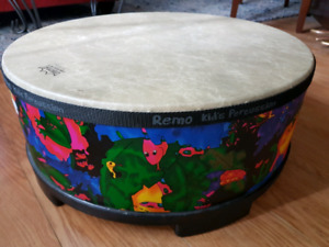 REMO Kids Percussion Gathering Drum and Bongos