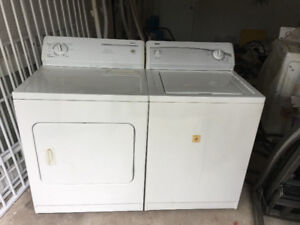Kenmore white washer electric dryer 300 for both