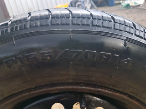 """14"""" Tires with Rims"""