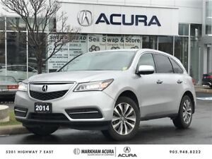 2014 Acura MDX Navigation at