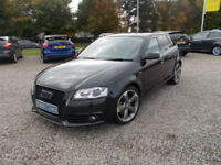 2012 Audi A3 2.0TDI ( 170ps ) Quattro S-Line Black Edition