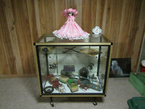 Collectible Toys,bottles,doll,models.with display case Sarnia Sarnia Area image 3