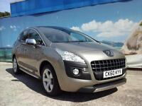 2010 PEUGEOT 3008 EXCLUSIVE HDI AUTOMATIC HATCHBACK DIESEL