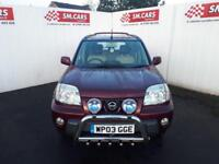 2003 03 NISSAN X-TRAIL 2.2 DI SPORT,STUNNING LOW MILEAGE EXAMPLE WITH FULL S/H .