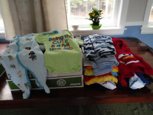 Baby clothes from newborn to 12 months