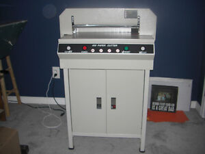"""18"""" to 24"""" 110v Electric Paper Cutter Wanted"""