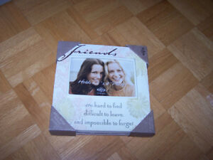 NEW VIEW - 8 x 8 FRIENDS picture frame - new in box