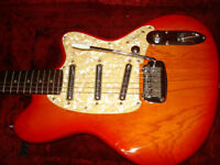 Ibanez Talman Electric with Original Hard Shell Case