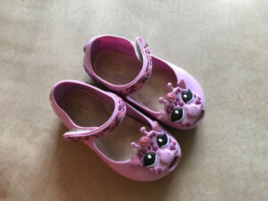 Mini Melissa Ultragirl IV BB Purple Giraffe Girls Sandal Shoes