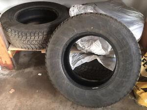 Winter Tires(new) - Blizzak 235 / 70R 16 106R