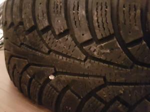 4 pneus d'hiver nokian hakkapeliitta 5 205 55 16 a 9/32
