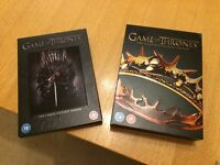 Games of Thrones DVDs - Complete Seasons 1 and 2