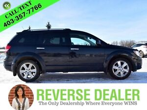 2010 Dodge Journey R/T  Leather, AWD, Back-up Cam, Heated Seats,
