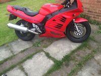 Suzuki rf600 motorbike cheap bike