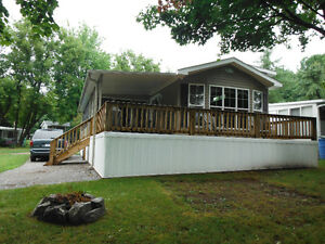 Beautiful Lake View Park Model Trailer For Sale at Six Foot Bay