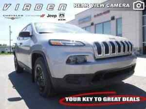 2017 Jeep Cherokee Sport **LOW KMS!! REMOTE START!!**