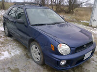2002 Subaru Impreza Hatchback