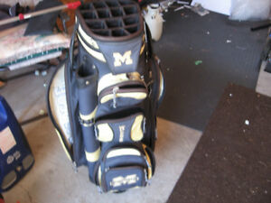 LADY COBRA FULL SET WITH COBRA BAG MICHIGAN WOLVERINES GOLF BAG