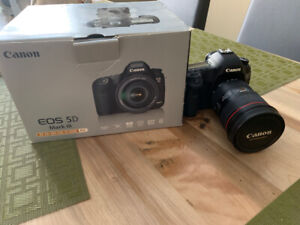 Canon EOS 5D Mark III + Extras. BODY ONLY, NO LENS. 1 owner.