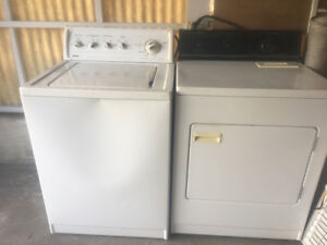 Washer & Dryer for both