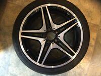 """Mercedes AMG Alloy Wheel (18"""" Diamond Cut)"""