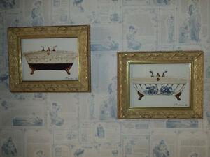 Cadre articles salle de bain dans grand montr al for Cadre salle de bain