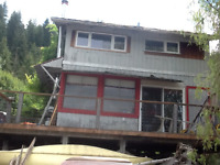 Two Storey cabin on Shuswap