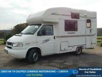 2003 VW T4 Motorhome Calypso Compass - 2 Berth - Only 31k Miles