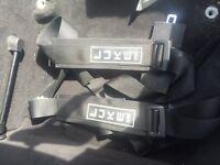 Luke Harness. Seat belt. 3 piece.