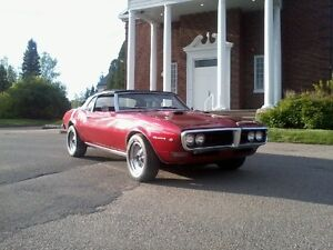 firebird camaro 400 1968 convertible