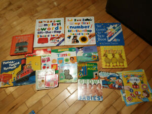 Lot of more than 15 baby books