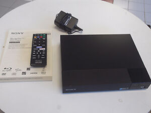NEW SONY SMART BLU-RAY DISC PLAYER WITH SUPER WI-FI