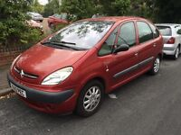 Citroen Picasso 1.6 with 11 months mot