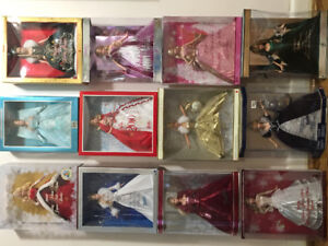 Mattel Barbie Holiday Collectable Editions