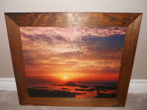 Wall Picture - Island Sunset