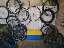 Spare 700c rims & wheels front and back 7-9 speed various brands. Noranda Bayswater Area Preview