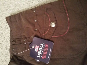 Women's lined brown winter pants Size Small New with tags London Ontario image 4