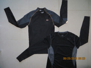 """NEW  2 Water activity shirts, S+M, $8 each, """"HIND"""" & """"NIKE"""""""