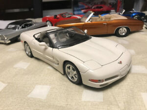Chevrolet Corvette diecast 1/18 die cast convertible